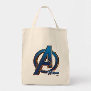 Avengers: Endgame | Avengers Blue & Gold Logo Tote Bag