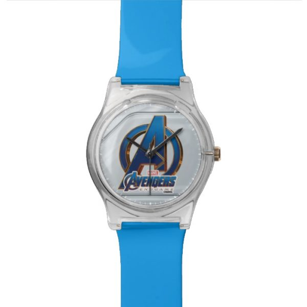 Avengers: Endgame | Avengers Blue & Gold Logo Watch