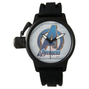 Avengers: Endgame | Avengers Blue & Gold Logo Watch