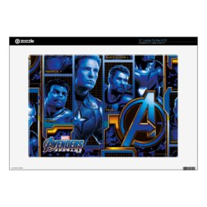 "Avengers: Endgame | Avengers Character Panels 15"" Laptop Decal"