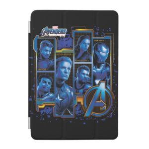 Avengers: Endgame | Avengers Character Panels iPad Mini Cover