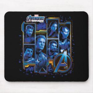 Avengers: Endgame | Avengers Character Panels Mouse Pad