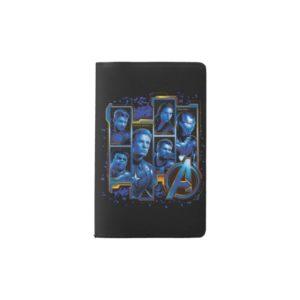 Avengers: Endgame   Avengers Character Panels Pocket Moleskine Notebook