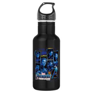 Avengers: Endgame | Avengers Character Panels Stainless Steel Water Bottle