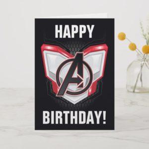 Avengers: Endgame | Avengers Chest Panel Logo Card