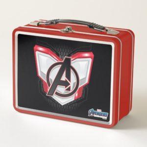 Avengers: Endgame | Avengers Chest Panel Logo Metal Lunch Box