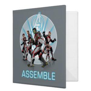 Avengers: Endgame | Avengers Group Stance Graphic 3 Ring Binder