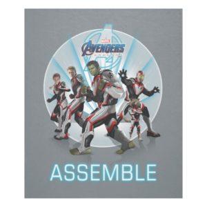 Avengers: Endgame | Avengers Group Stance Graphic Fleece Blanket