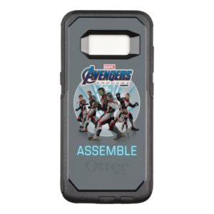 Avengers: Endgame | Avengers Group Stance Graphic OtterBox Commuter Samsung Galaxy S8 Case