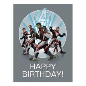 Avengers: Endgame | Avengers Group Stance Graphic Postcard