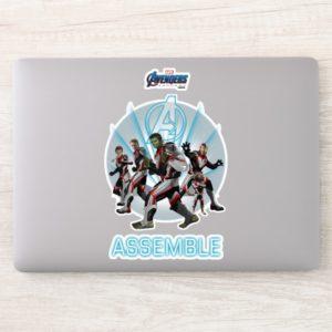 Avengers: Endgame | Avengers Group Stance Graphic Sticker