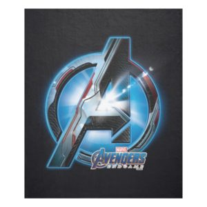 Avengers: Endgame | Avengers Hi-Tech Logo Fleece Blanket