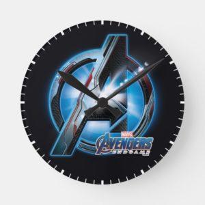 Avengers: Endgame | Avengers Hi-Tech Logo Round Clock