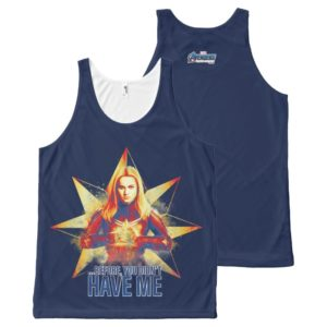 "Avengers: Endgame | ""Before, You Didn't Have Me"" All-Over-Print Tank Top"