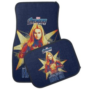 "Avengers: Endgame | ""Before, You Didn't Have Me"" Car Floor Mat"