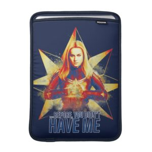 "Avengers: Endgame | ""Before, You Didn't Have Me"" MacBook Air Sleeve"