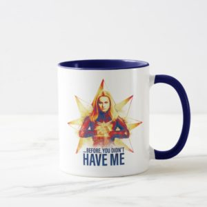 "Avengers: Endgame | ""Before, You Didn't Have Me"" Mug"
