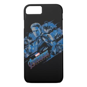 Avengers: Endgame | Blue Avengers Group Graphic Case-Mate iPhone Case