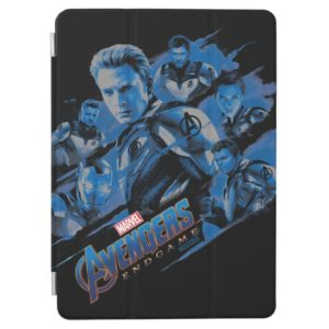 Avengers: Endgame | Blue Avengers Group Graphic iPad Air Cover