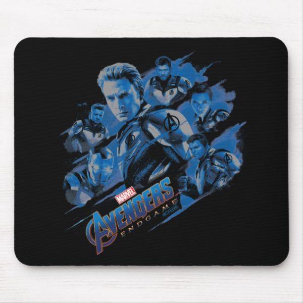Avengers: Endgame | Blue Avengers Group Graphic Mouse Pad