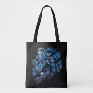 Avengers: Endgame | Blue Avengers Group Graphic Tote Bag