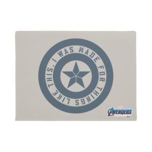 "Avengers: Endgame | Captain America ""I Was Made"" Doormat"