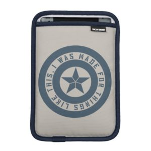 "Avengers: Endgame | Captain America ""I Was Made"" iPad Mini Sleeve"