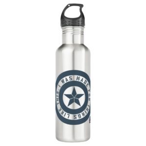 "Avengers: Endgame | Captain America ""I Was Made"" Stainless Steel Water Bottle"