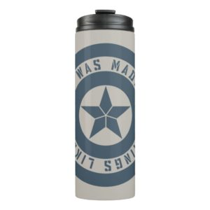 "Avengers: Endgame | Captain America ""I Was Made"" Thermal Tumbler"