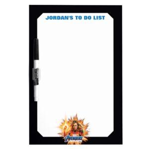 Avengers: Endgame | Captain Marvel Avengers Logo Dry Erase Board