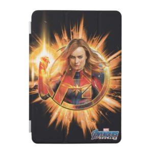 Avengers: Endgame | Captain Marvel Avengers Logo iPad Mini Cover