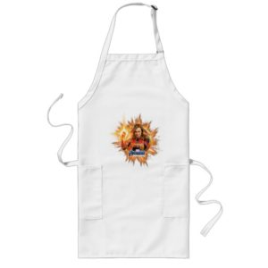 Avengers: Endgame | Captain Marvel Avengers Logo Long Apron