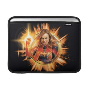 Avengers: Endgame | Captain Marvel Avengers Logo MacBook Air Sleeve