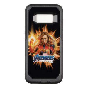 Avengers: Endgame | Captain Marvel Avengers Logo OtterBox Commuter Samsung Galaxy S8 Case