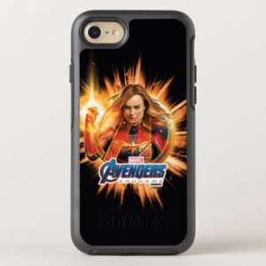 Avengers: Endgame | Captain Marvel Avengers Logo OtterBox iPhone Case