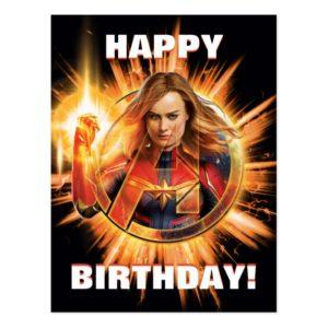 Avengers: Endgame | Captain Marvel Avengers Logo Postcard