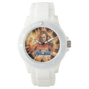 Avengers: Endgame | Captain Marvel Avengers Logo Watch
