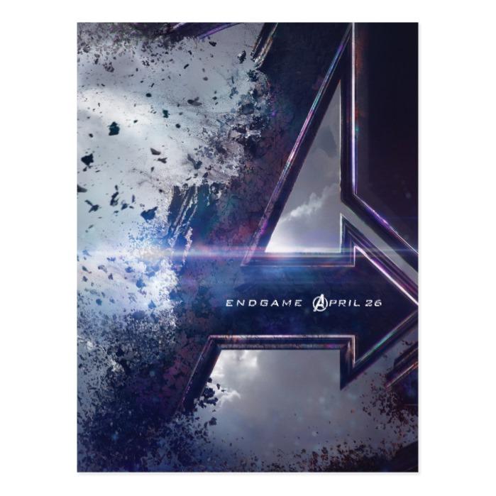 Avengers Endgame Endgame Theatrical Art Postcard Custom Fan Art