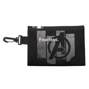 "Avengers: Endgame | ""Fearless"" Avengers Logo Accessory Bag"