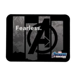 """Avengers: Endgame   """"Fearless"""" Avengers Logo Magnet"""