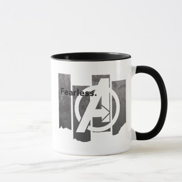 "Avengers: Endgame | ""Fearless"" Avengers Logo Mug"