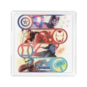 Avengers: Endgame | Heroes & Icons Graphic Acrylic Tray