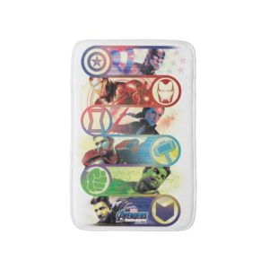 Avengers: Endgame | Heroes & Icons Graphic Bath Mat