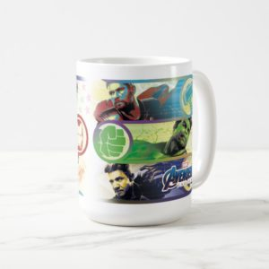 Avengers: Endgame | Heroes & Icons Graphic Coffee Mug