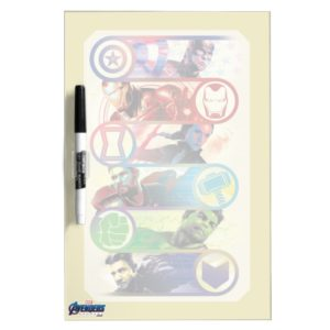 Avengers: Endgame | Heroes & Icons Graphic Dry Erase Board