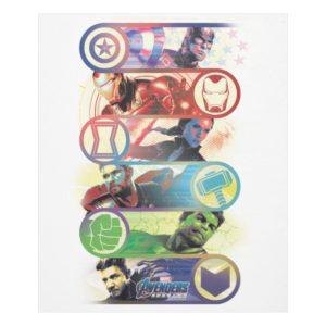 Avengers: Endgame   Heroes & Icons Graphic Fleece Blanket