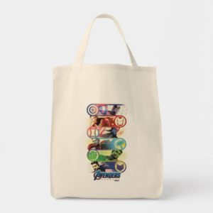 Avengers: Endgame | Heroes & Icons Graphic Tote Bag