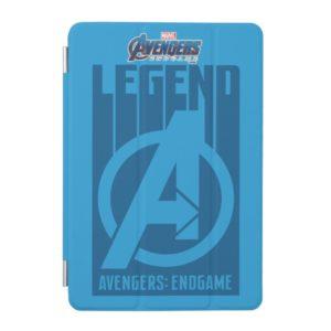 "Avengers: Endgame | ""Legend"" Avengers Logo iPad Mini Cover"
