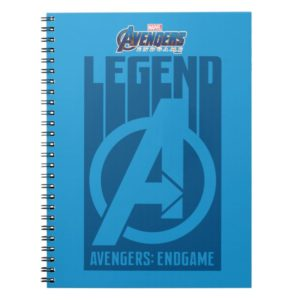 "Avengers: Endgame | ""Legend"" Avengers Logo Notebook"