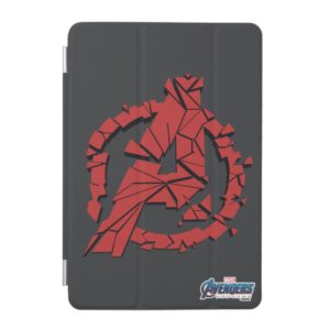 Avengers: Endgame | Shattered Avengers Logo iPad Mini Cover